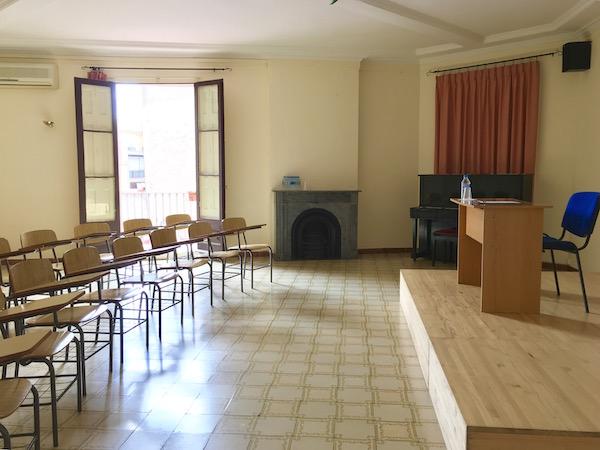 Alquiler Aulas Barcelo Salon Apolo3
